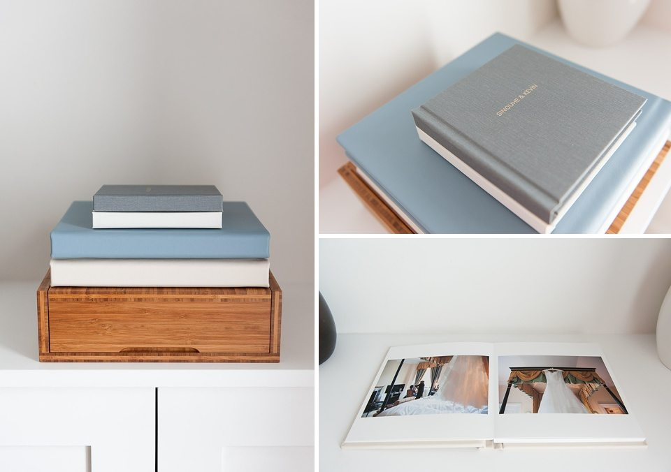 wedding photography top tips with Fiona Kelly - folio wedding albums with bamboo presentation box